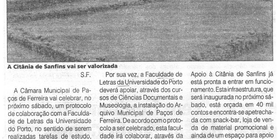 """(255) """"Valorização da Citânia de Sanfins"""" - 1997 07 17 1ºJaneiro ...-240r"""