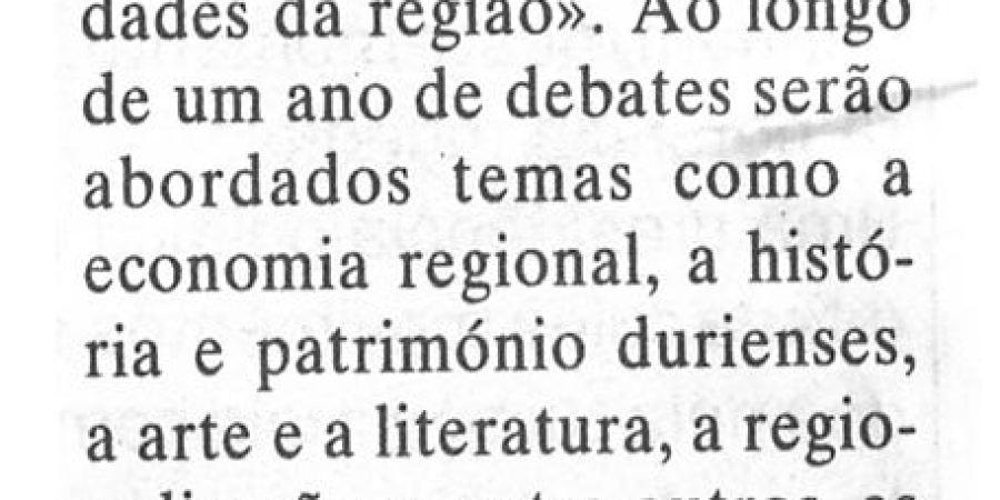 """(208) """"Douro em debate na Casa da Calçada"""" - 1998 08 31 DEconomico ...-160r"""