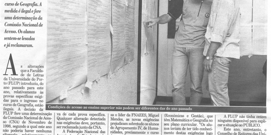 """(152) """"Geografia mais longe"""" - 1999 03 13 Publico ...-570r"""