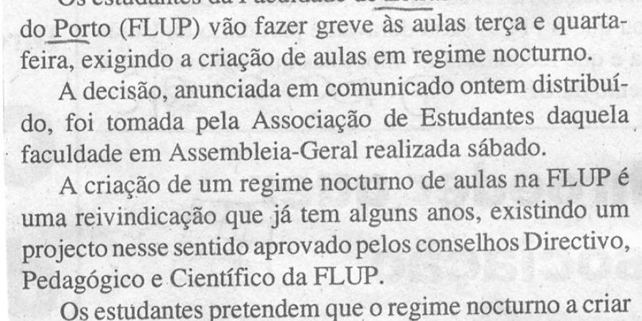 """(111) """"Greve às aulas na Faculdade de Letras"""" - 2000 02 28 DAçores 05-60r"""