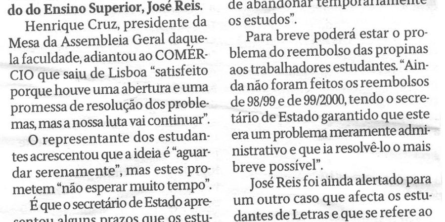 """(85) """"Problemas de Letras com solução à vista"""" - 2000 03 10 CPorto 06-200r"""