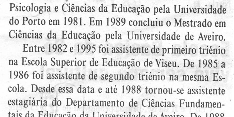 """(77) """"Doutoramento em Psicologia na Universidade do Minho"""" - 2000 06 14 DMinho 07-190r"""