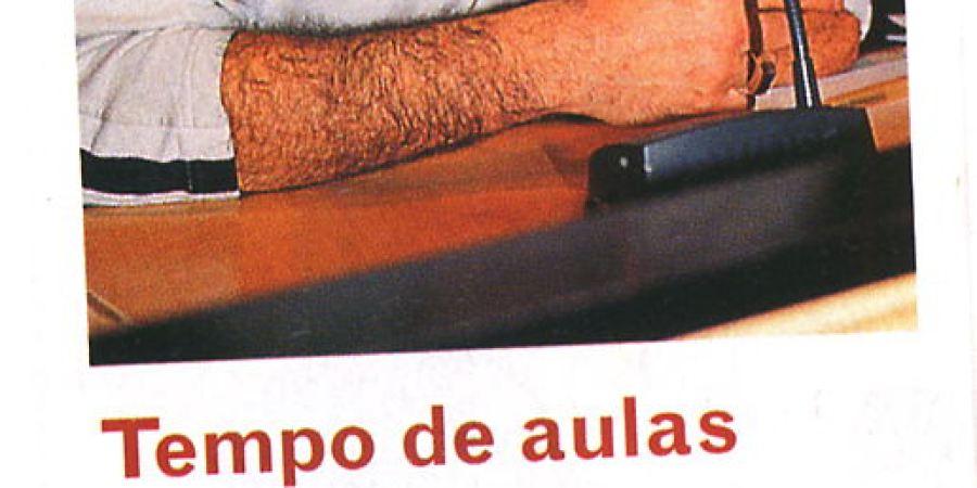 "(32) ""Tempo de aulas"" - 2000 11 20 Mundo VIP 31-50r"