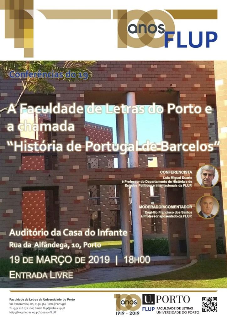 Cartaz conferência março