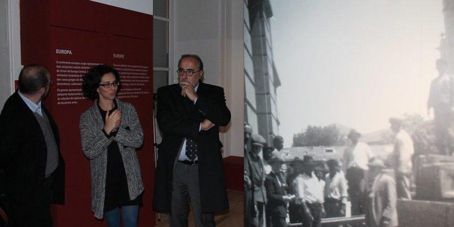"""Inauguração da exposição """"Culturas e Geografias"""""""
