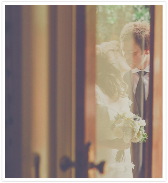 Mariage belle photo couple reflet
