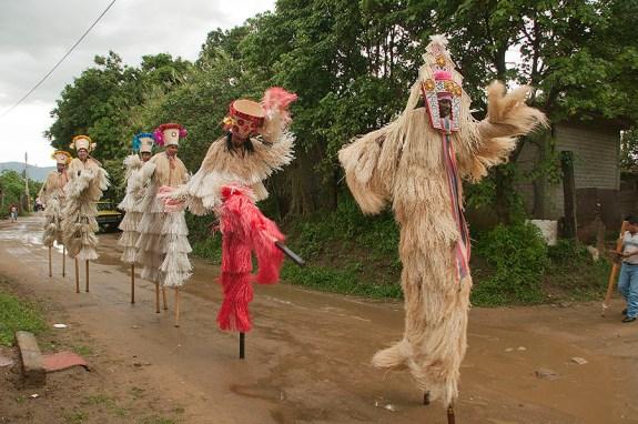 Credit Line: Laura Anderson Barbata, Performance for San Pedro Festivities, 2011, Zaachila, Oaxaca. Photo: Marco Pacheco / Image courtesy of the artist.