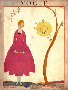 Cover of 1917 Vogue