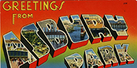 Greetings from Asbury Park postcard