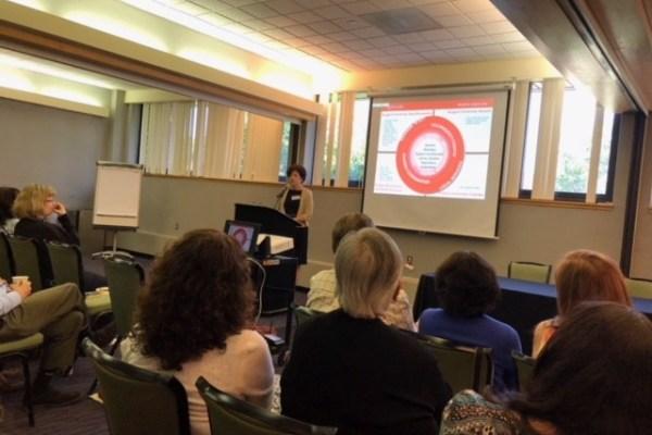 krisellen presenting