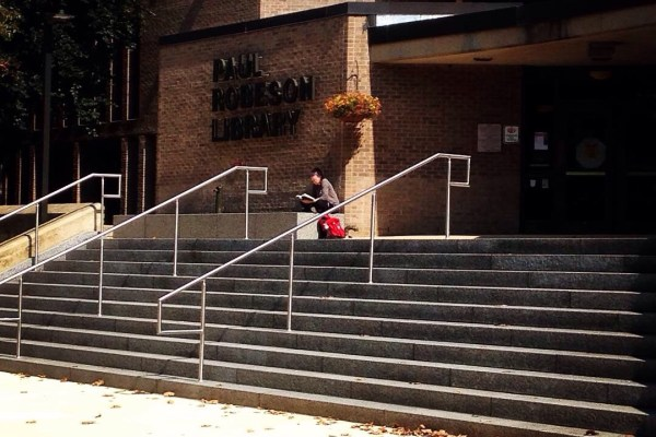 New steps at Robeson