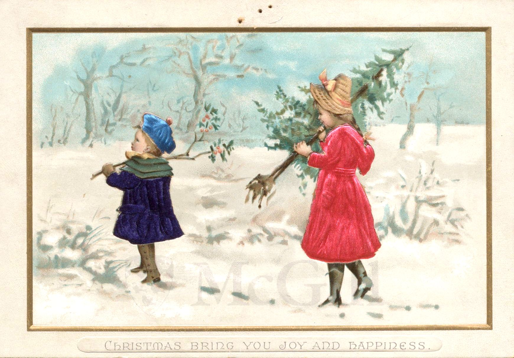 Victorian Holiday Cards Rare Books And Special