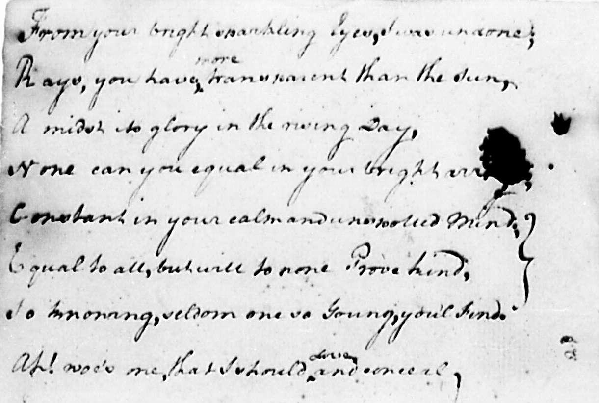George Washington Love Poet