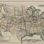 1920s Road Trip The Lincoln Highway In Strip Maps Worlds Revealed Geography Maps At The Library Of Congress