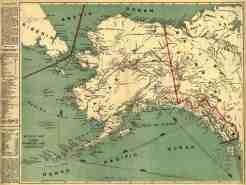 Millroy S Map Of Alaska And The Klondyke Gold Fields Library Of Congress