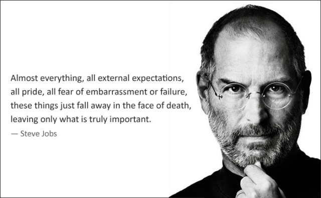 Steve Jobs almost everything