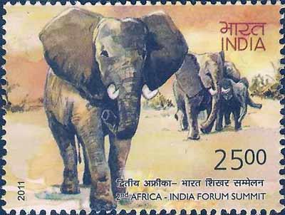 IndiaAfrica-summit-stamp