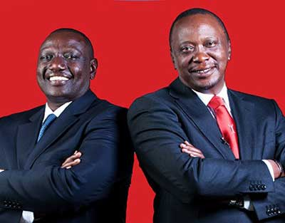 Kenya's President Uhuru Kenyatta and Deputy President William Ruto have been charged with crimes against humanity by the ICC