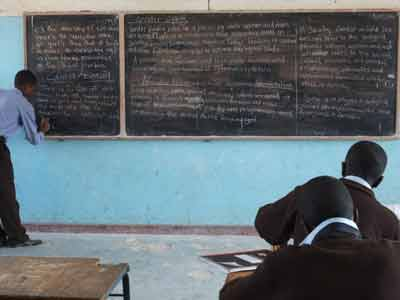 Boys at a single-sex school 'learning' about gender equality as part of Civic Education