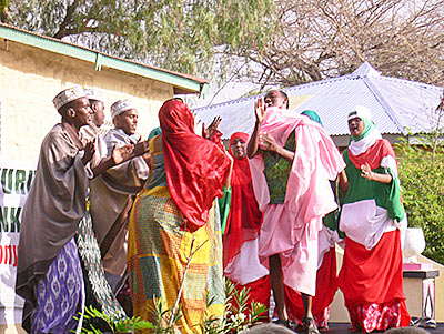 Dancing at the Hargeysa International Book Fair, the largest of its kind in the Horn of Africa