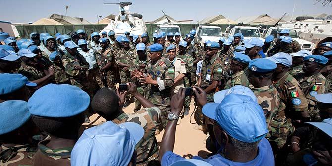 UNAMID forces in Darfur Photo Credit: UNAMID/Albert González Farran