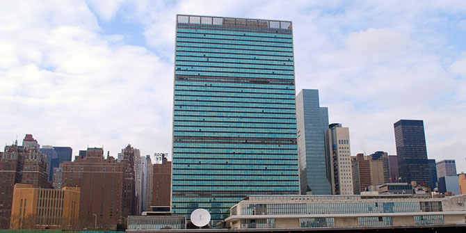 United Nations Headquarters Credit: Paolo Rosa via Flickr (http://bit.ly/1Ft9ATS)
