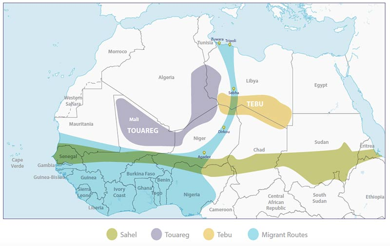 Niger-ethnic-groups-and-migrant-routes