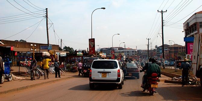 A Kampala street