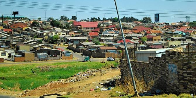 A post-apartheid Soweto Photo Credit: SarahTz via Flickr (http://bit.ly/1srYGYQ) CC BY 2.0