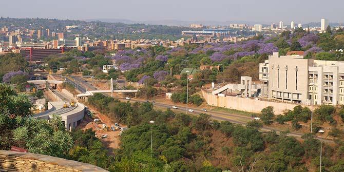 A view of the city of Pretoria Photo Credit: JojoS7 via Flickr (http://bit.ly/1PEnPu7)