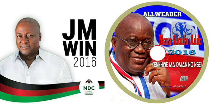 President John Mahama and NPP's Nana Akufo Addo are the leading contenders in the 2016 Ghana elections