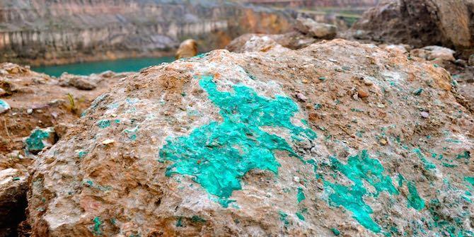 A copper mine in Katanga Photo Credit: Fairphone via Flickr (http://bit.ly/2ibSRKH) CC BY-NC-SA