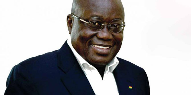 It's three times successful for Nana Akufo Addo as he is elected President of Ghana Photo Credit: Politiciscope http://bit.ly/2hkKwYi