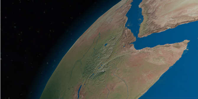 Map Of Africa From Space.Africa At Lse Book Review The Horn Of Africa State Formation And
