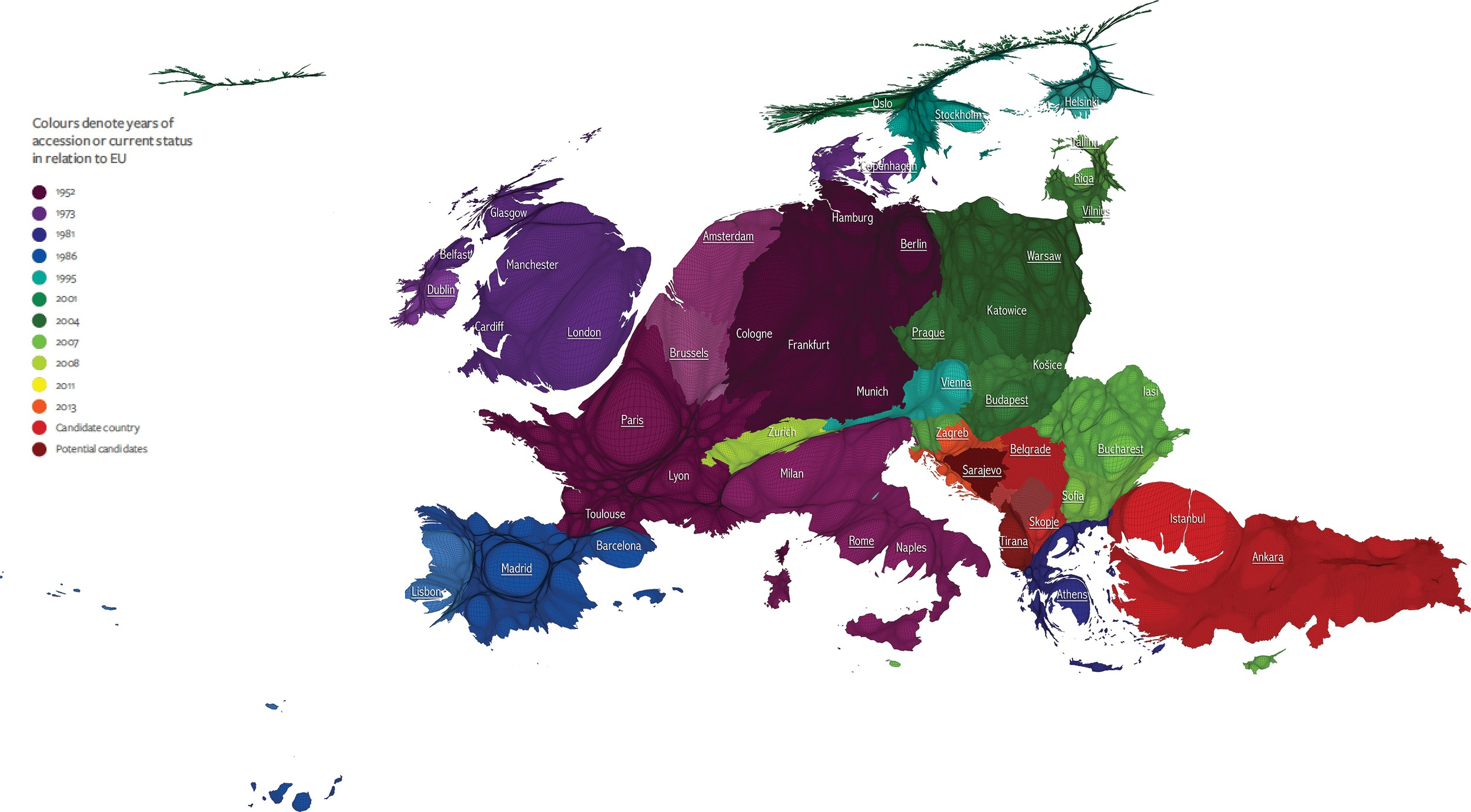 EUROPP     An atlas with a positive message for a European people     Source  The Human Atlas of Europe