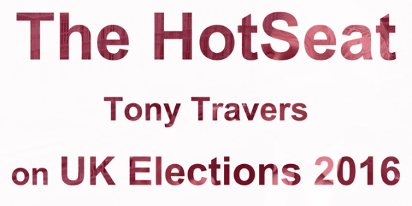 LSE Government – HOTSEAT: Tony Travers on UK Elections 2016