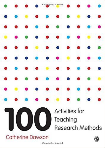 Cover: 100 Activities for Teaching Research Methods