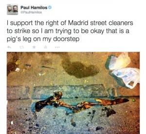 Paul hamilos tweet