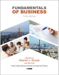 Cover of Fundamentals of Business 3rd edition