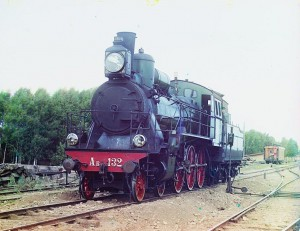 Russian Railway Engine, 1909-1915