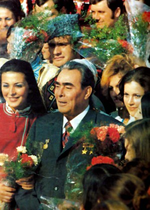 Brezhnev in Kishinev (1976) Celebration of the fiftieth anniversary of the Moldavian SSR