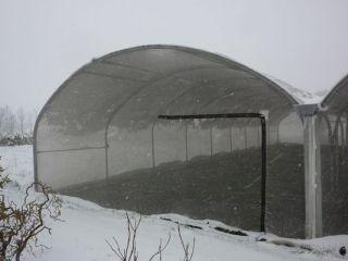 Tunnel neige