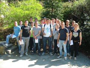 Les apprentis de BP4 Travaux Paysagers en visite au Conservatoire Botanique de Brest (29)