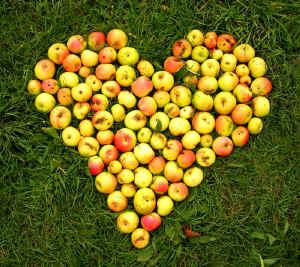 coeur-pommes