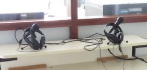 Les micros et casques des intervenants