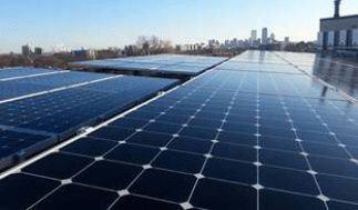 Rooftops installations are a great way to generate solar energy while avoiding the loss of ecologically-important land areas Photo credit: EEA