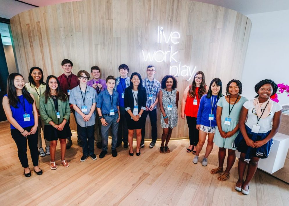 Photo of inaugural Council for Digital Good – 15 teens from across the U.S. selected to explore the state of digital civility