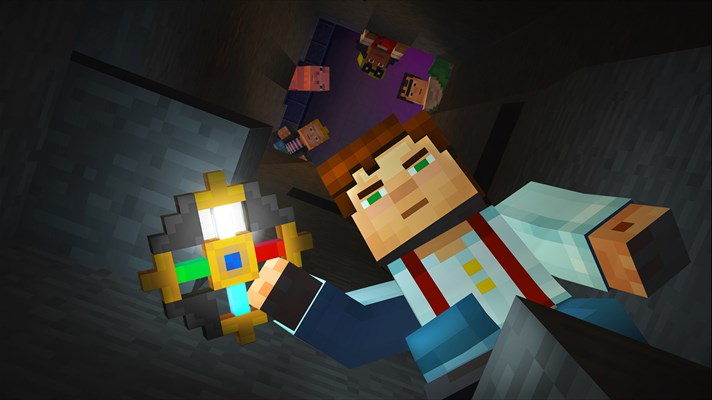 Make your own adventure in 'Minecraft: Story Mode' - The Fire Hose