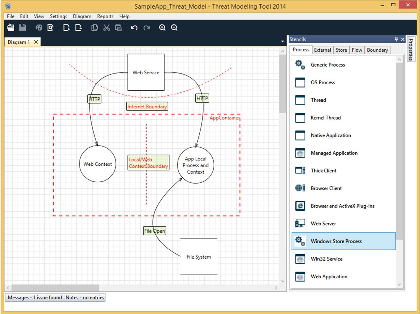 Introducing Microsoft Threat Modeling Tool 2014