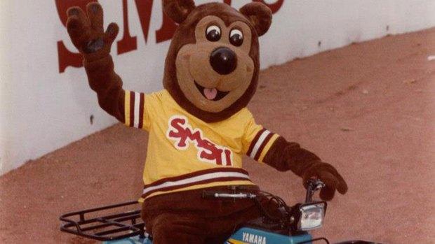 Boomer riding on a four wheeler